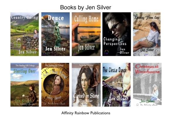 Books by Jen Silver